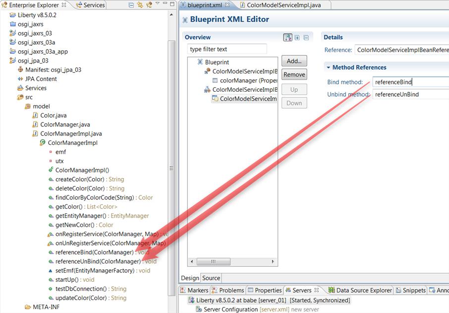 Integrating jax rs 3 create osgi application and deploy to liberty server malvernweather Gallery